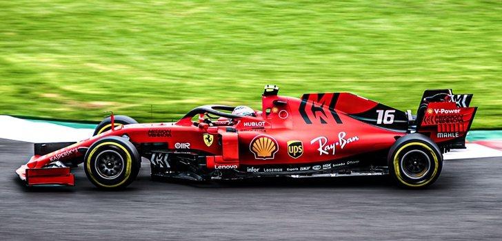 Leclerc, en el GP de Brasil 2019