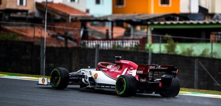 Räikkönen, en los Libres 1 del GP de Brasil 2019