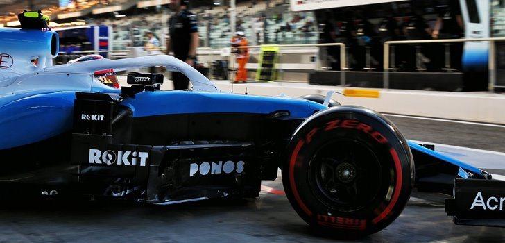 Robert Kubica en el GP de Abu Dhabi