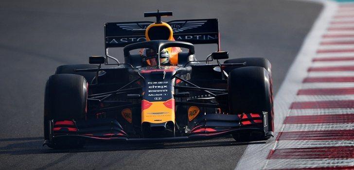 Verstappen, en la qualy del GP de Abu Dabi