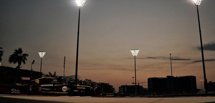 Daniel Ricciardo, contento por su actuación en la clasificación