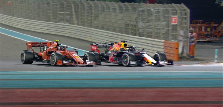 Batalla entre Verstappen y Leclerc en Abu Dabi