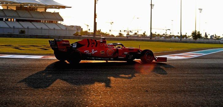 Vettel, en los test 1 de Abu Dabi