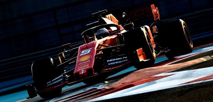 Vettel, en los test de Abu Dabi