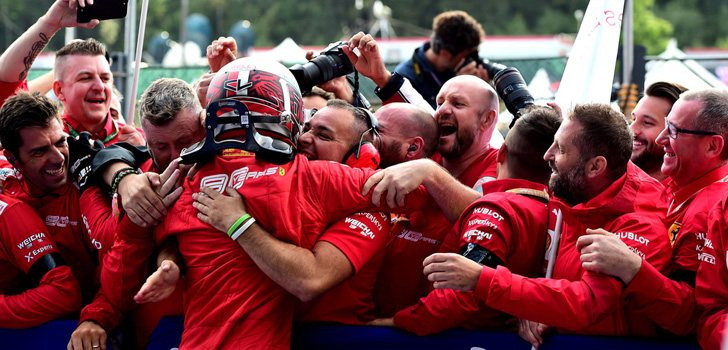 Charles Leclerc, resultados fantásticos en Ferrari