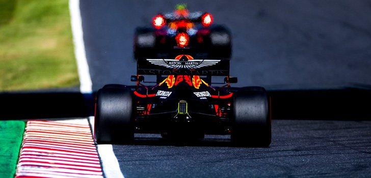 Los pilotos de Red Bull, rodando en Suzuka