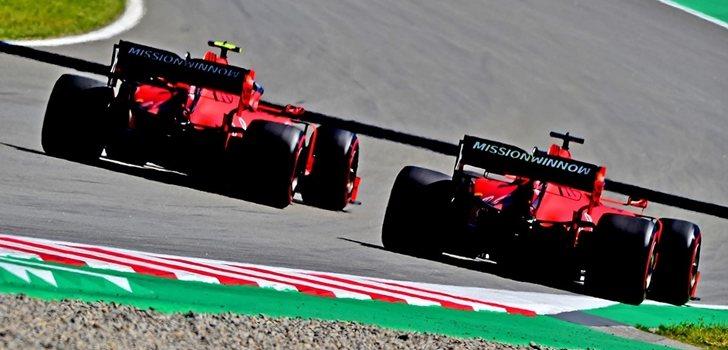 Vettel y Leclerc, emparejados en pista