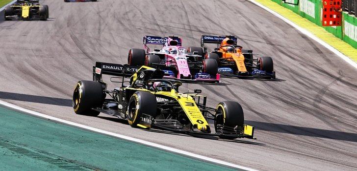 Ricciardo, durante el GP de Brasil