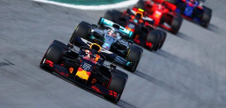 Los monoplazas de F1, en Estados Unidos
