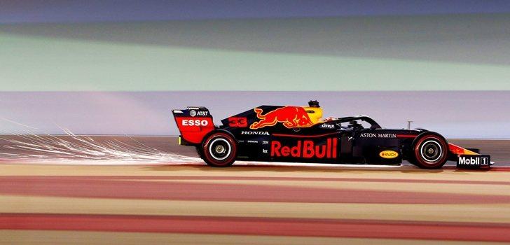 Verstappen, durante el GP de Abu Dabi