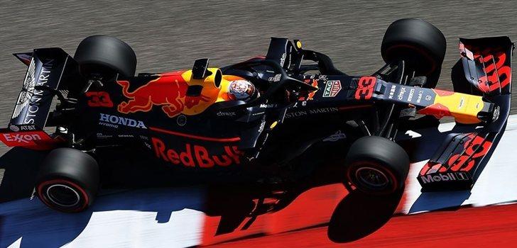 Verstappen, en el GP de Estados Unidos 2019