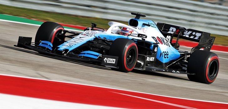 Russell, en el GP de Estados Unidos 2019