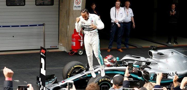Hamilton gana el GP de China 2019