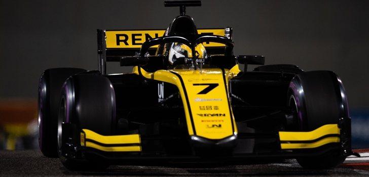 Guanyu Zhou, en el Mundial de Fórmula 2