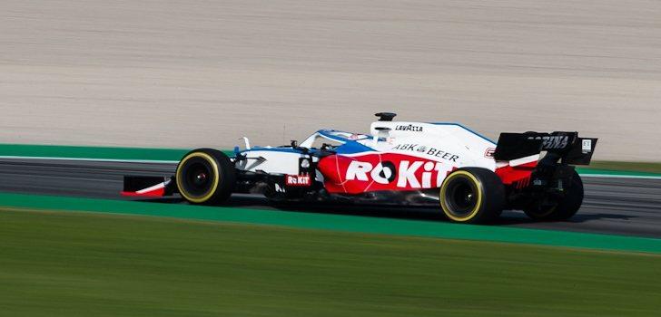 Williams levanta cabeza en los Test 1 de Barcelona