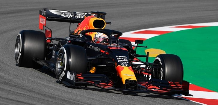 Verstappen, el pasado miércoles en los test de Barcelona