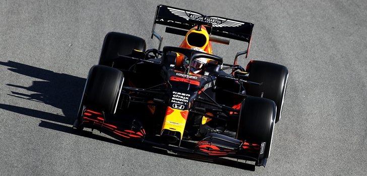 Verstappen, en los test 4 de Barcelona