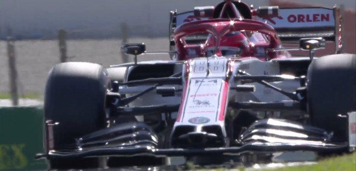 Kubica, en los test 4 de Montmeló