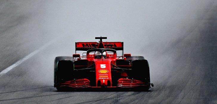 Vettel, a los mandos del SF1000