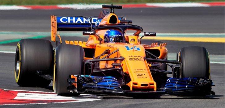 Alonso, a los mandos del MCL33