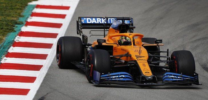 Lando Norris en el Circuit Barcelona- Catalunya