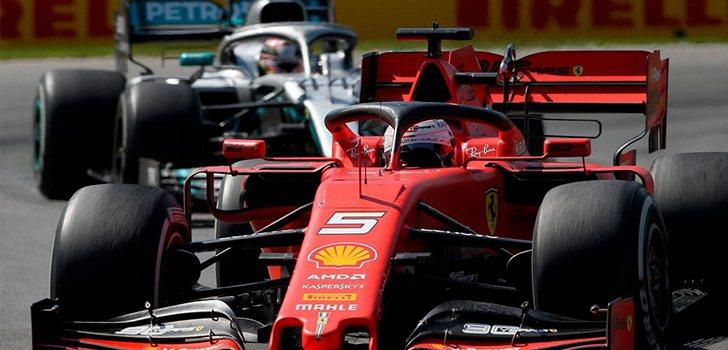 Posible cambio de pilotos entre Vettel y Hamilton