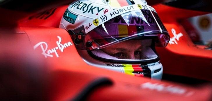 Vettel, a los mandos del SF90