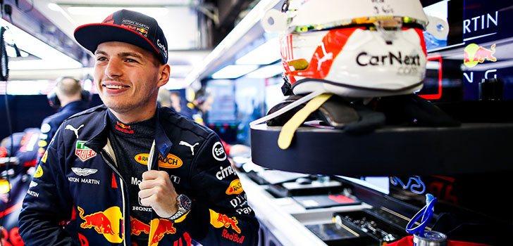Max Verstappen, a tope para esta temporada 2020