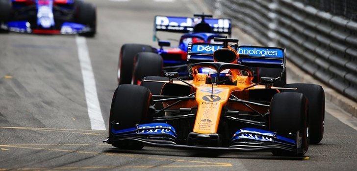 Carlos Sainz, en el GP de Mónaco 2019