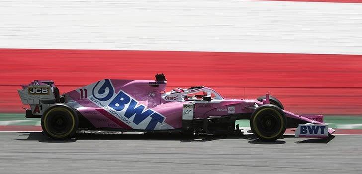 Sergio Pérez, seguro para la carrera en Austria