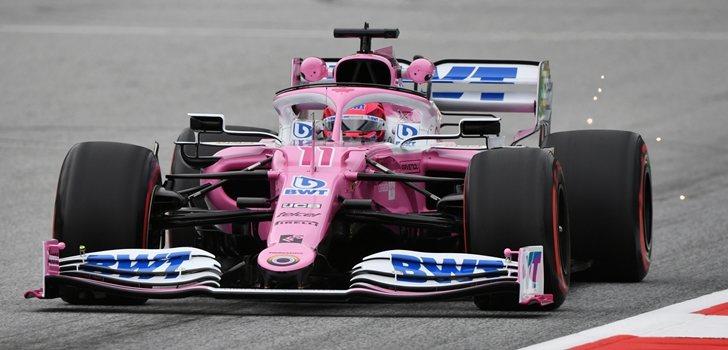Pérez, en el GP de Austria 2020