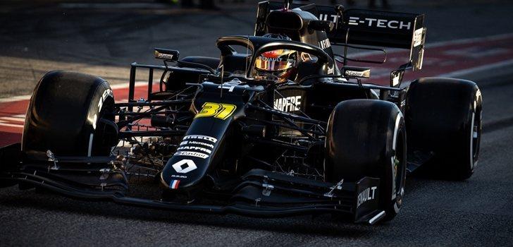 Esteban Ocon, en el Red Bull Ring