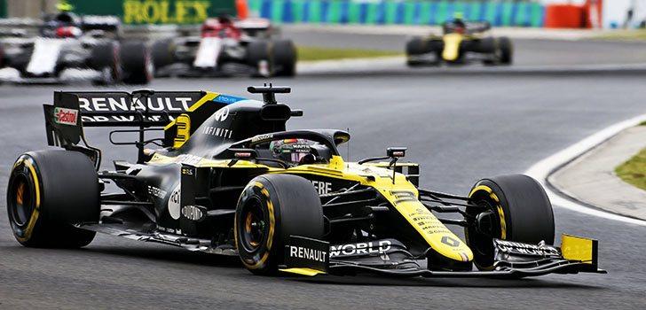 Daniel Ricciardo, contento con la octava posición en el GP de Hungría