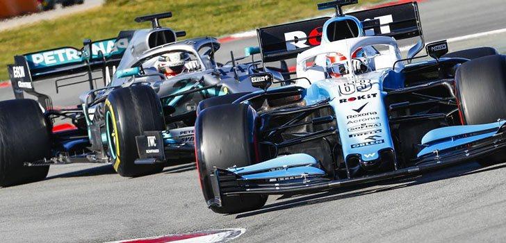 George Russell está sorprendido por todo lo que representa la figura de Lewis Hamilton en Fórmula 1