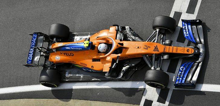 Carlos Sainz espera más de su MCL35 en este fin de semana en Silverstone