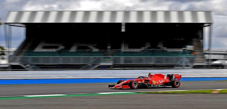 Leclerc Silverstone 2020