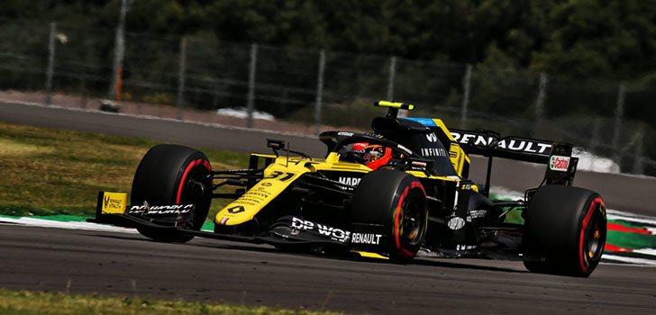 Daniel Ricciardo, satisfecho con el resultado de la clasificación de Silverstone