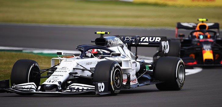 Pierre Gasly, encantado con el resultado en la carrera de Silverstone