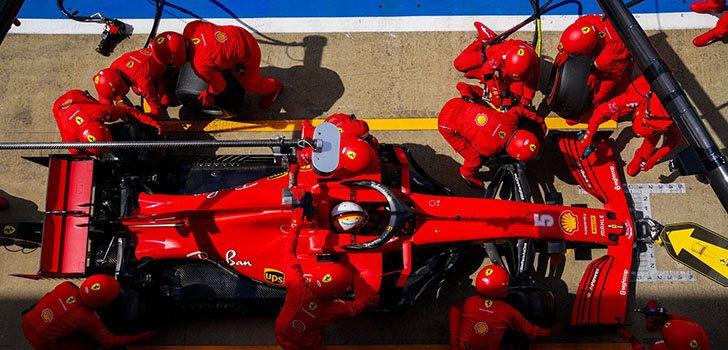En Ferrari no se fijan en luchar por el triunfo en Silverstone