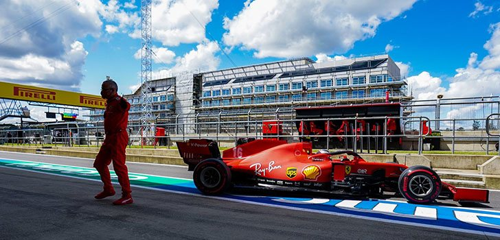 Mattia Binotto, desconcertado con la situación de Ferrari