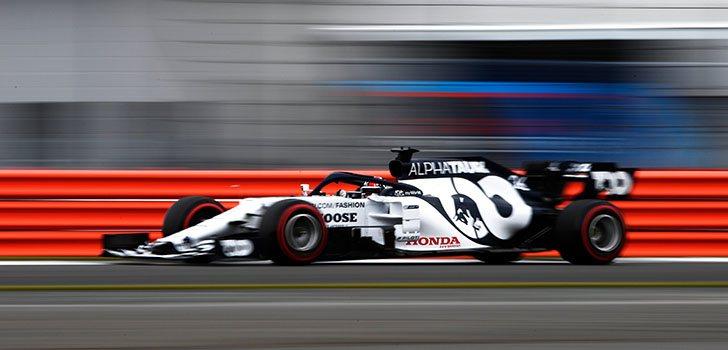 Daniil Kvyat, satisfecho con el primer día en Silverstone