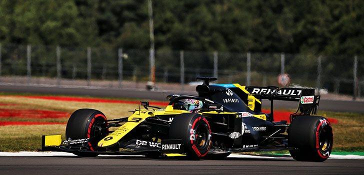 Clasificación perfecta para Daniel Ricciardo en Silverstone