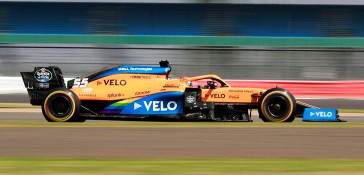 Sainz, en el GP 70º Aniversario