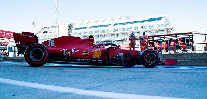 Ferrari sigue lejos de los mejores, a pesar de la cuarta posición
