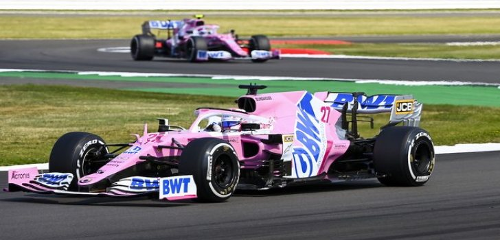 racing point silverstone 2020