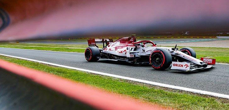 Alfa Romeo ha mejorado, pero lejos de los puntos en Silverstone