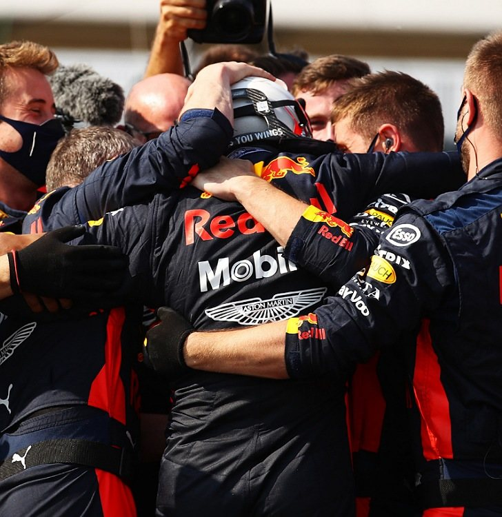 Verstappen Silverstone 2020