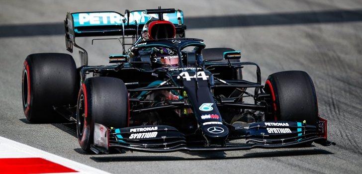 Hamilton, en los Libres del GP de España