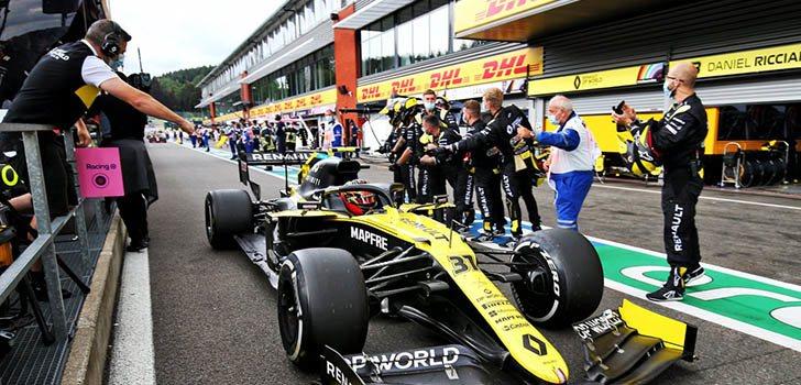 Renault consigue un resultado fantástico en la carrera de Spa