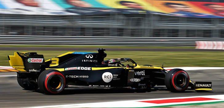 Daniel Ricciardo, orgulloso por su actuación en la clasificación en Monza